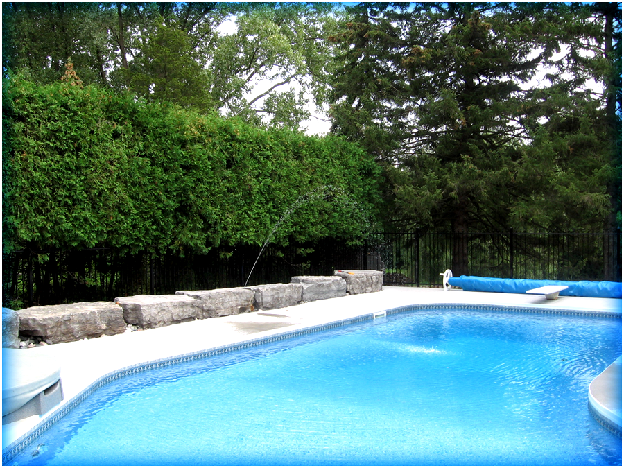 Swimming pools at builders warehouse pictures best for Pool design london ontario